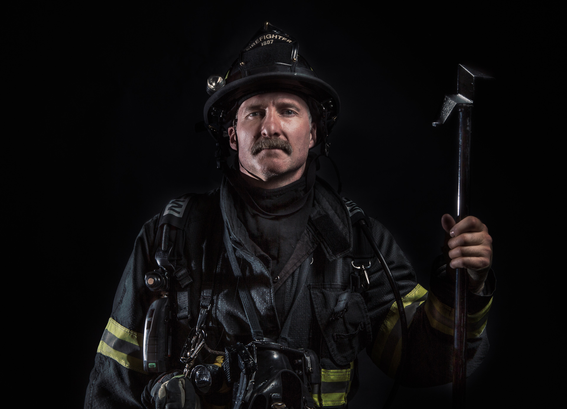 American Heroes/ Fire Fighters/Industry/Portraits