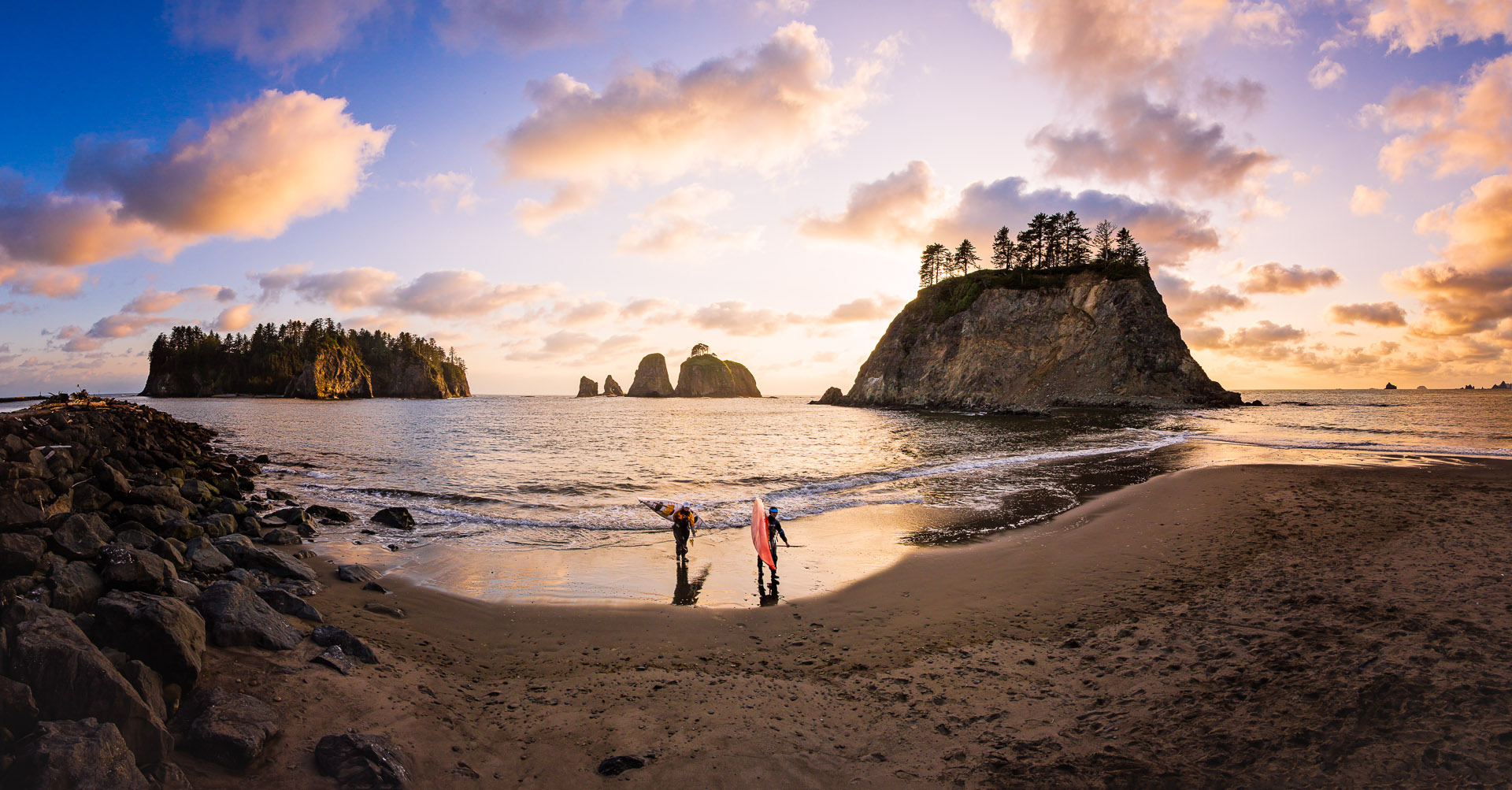 Washington Coast/Rialto Beach Sea Kayaking/Active Lifestyle