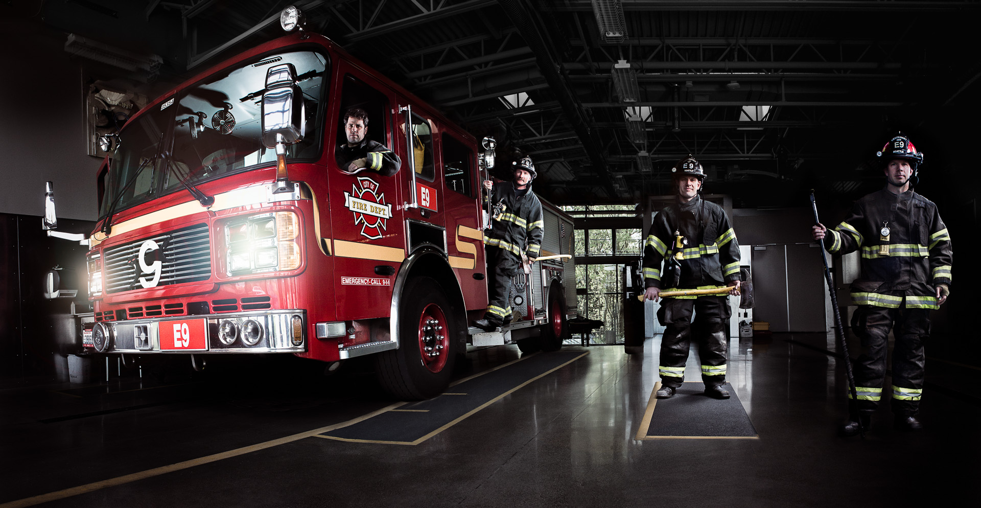 American Heroes/ Fire Fighters/Industry
