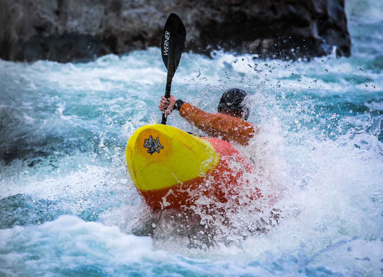 White Water Kayaking/Active Lifestyle
