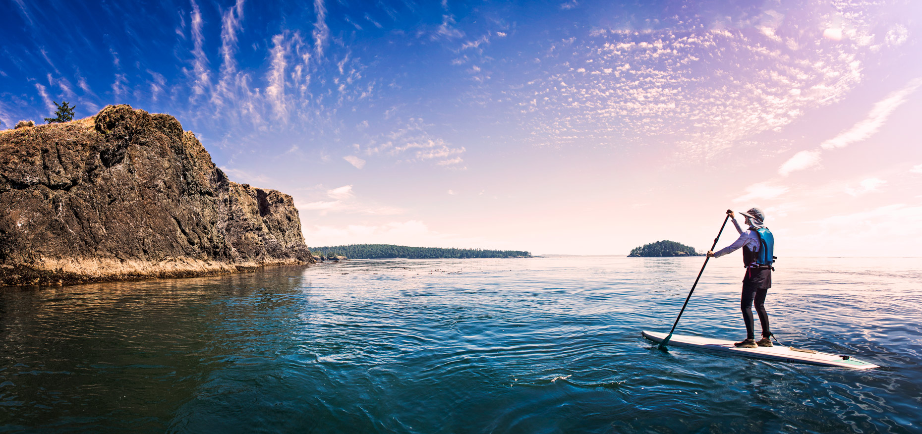 deception pass paddleboard